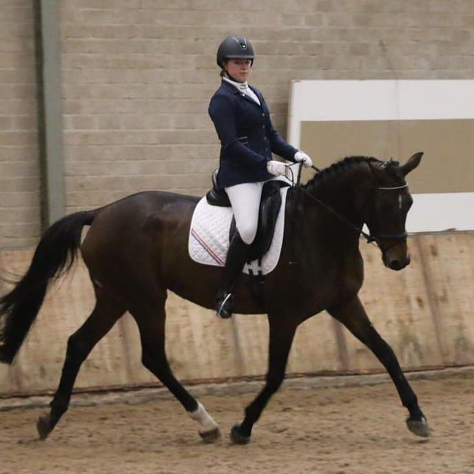 Anne Brouwer reservekringkampioen in L1-dressuur